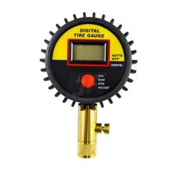 Comprobador digital de presión de neumáticos