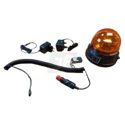 Rotativo recargable magnético LED