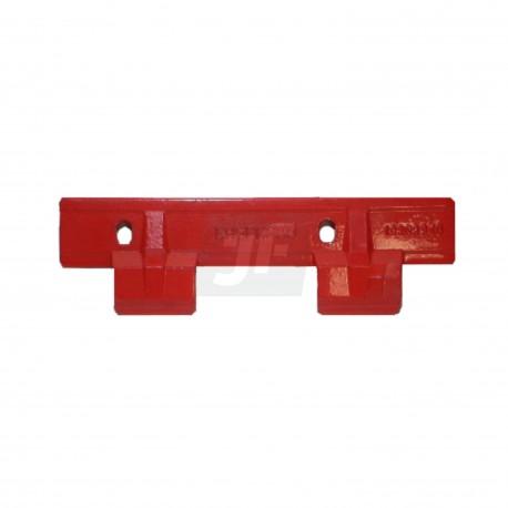 Gaspardo. G21120041. Guía cuchilla superior doble
