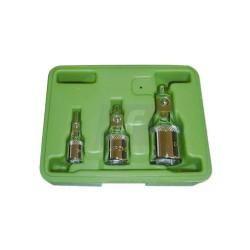 Set de 3 adaptadores magnéticos