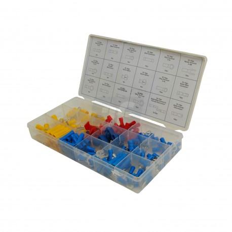 Caja de terminales eléctricas. 160 piezas