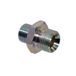 Adaptador roscado recto hidráulico