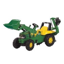 Tractor John Deere con cargador frontal